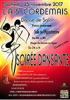 Affiche ASC danse salon nov 2017
